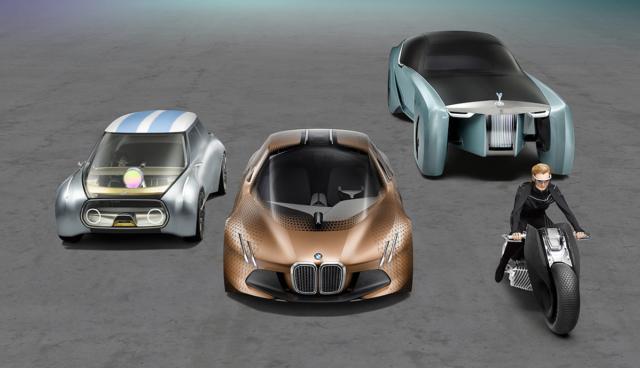 """BMW-Chefdesigner: """"Beruflich lebe ich derzeit im Jahr 2030"""""""