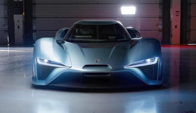 NIO EP9: Elektroauto-Startup NextEV stellt Supersportwagen vor