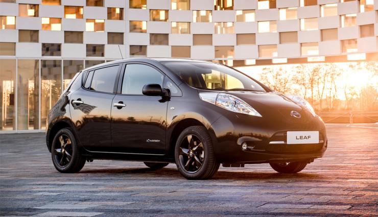 Kompakt-Elektroauto Nissan LEAF in limitierter Black Edition erhältlich