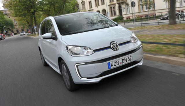 Neue Bilder von VWs Elektroauto-Kleinwagen e-up!