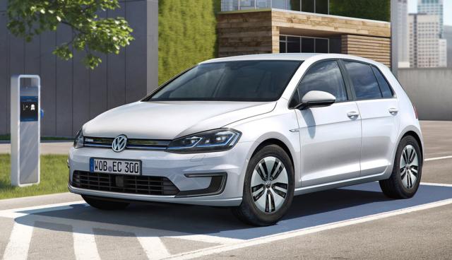 VW e-Golf 2017: Bilder und Leistungsdaten
