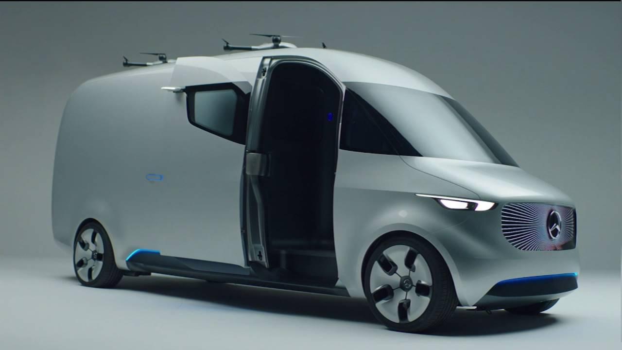 "Mercedes Elektro-Transporter ""Vision Van"" (Bilder, Video) - ecomento.de"