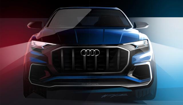 Audi Q8 e-tron concept feiert im Januar Premiere