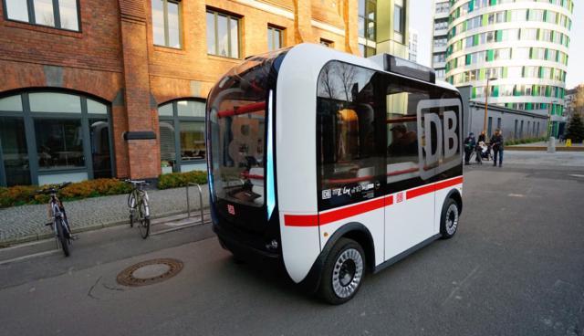 Deutsche Bahn testet autonom fahrende Elektro-Busse