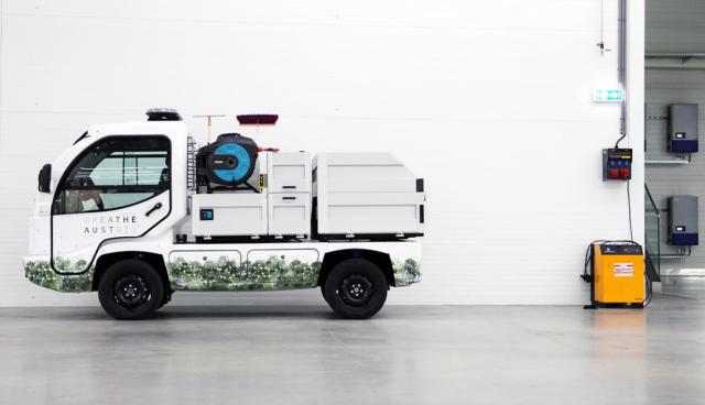 Steirischer Mini-Elektrotransporter ELI geht in Serie
