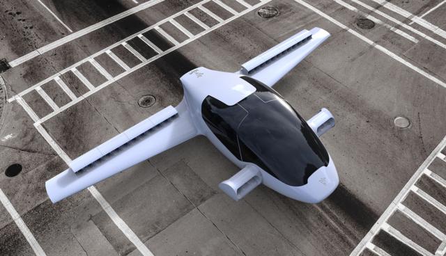 Lilium-Elektroauto-Flugzeug-Jet1