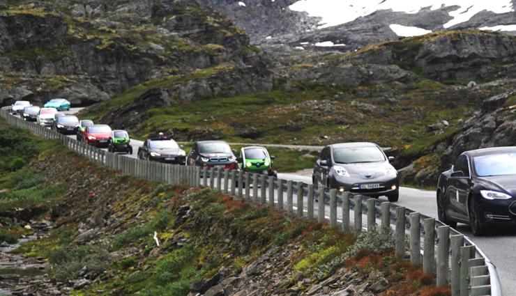 100.000 Stromer: Neuer Elektroauto-Meilenstein in Norwegen