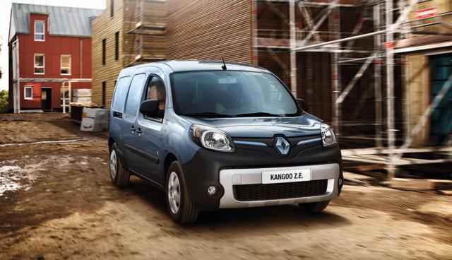 Renault: Elektro-Lieferwagen Kangoo Z.E. bald mit 270 Kilometern Reichweite