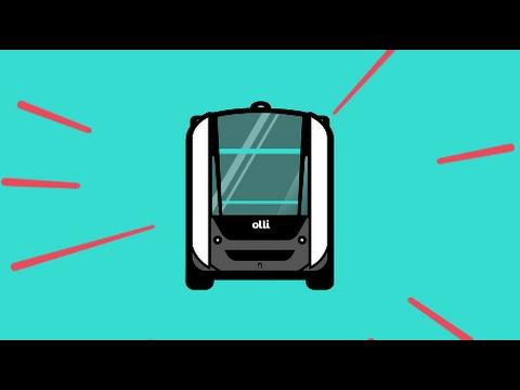 In Washington sind fahrerlose Elektro-Minibusse aus dem 3D-Drucker unterwegs
