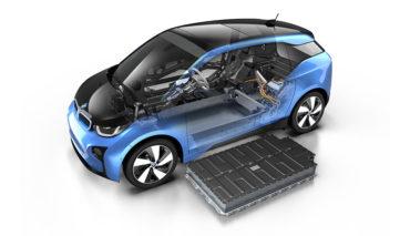 BMW-Elektroauto-Batterie