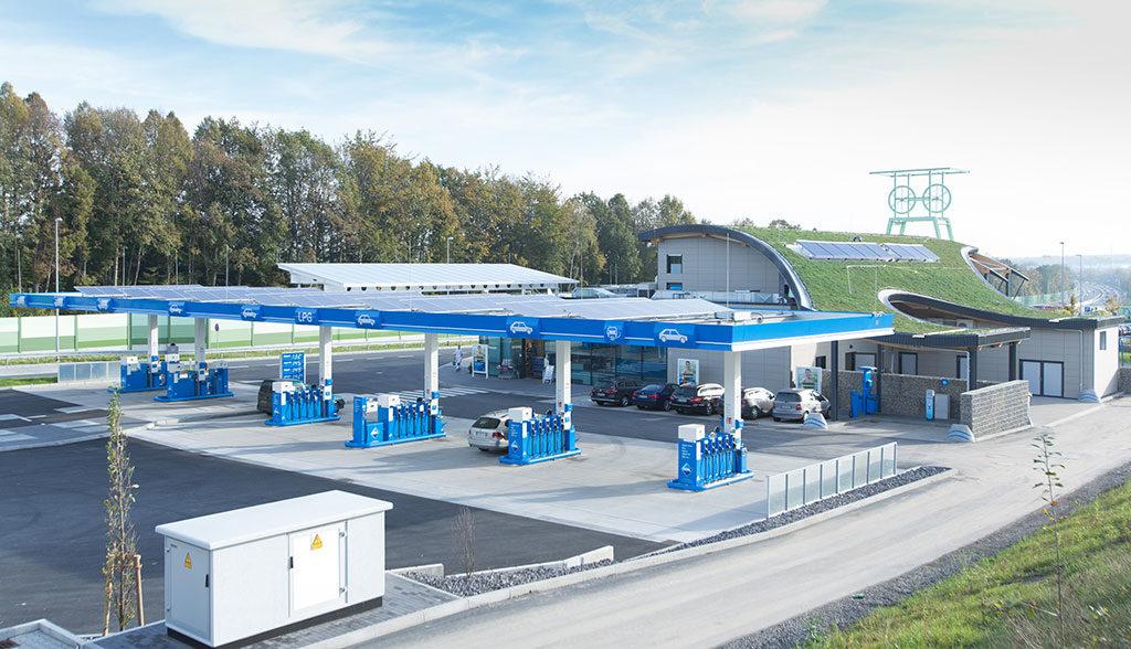 BP-Aral-Elektroauto-Tankstelle