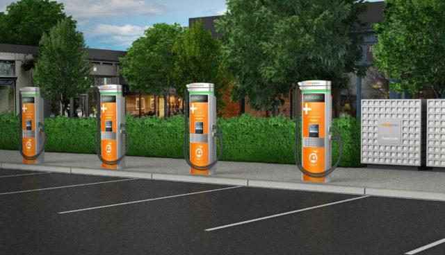 """""""Express Plus"""": ChargePoint stellt minutenschnelles Elektroauto-Laden in Aussicht"""