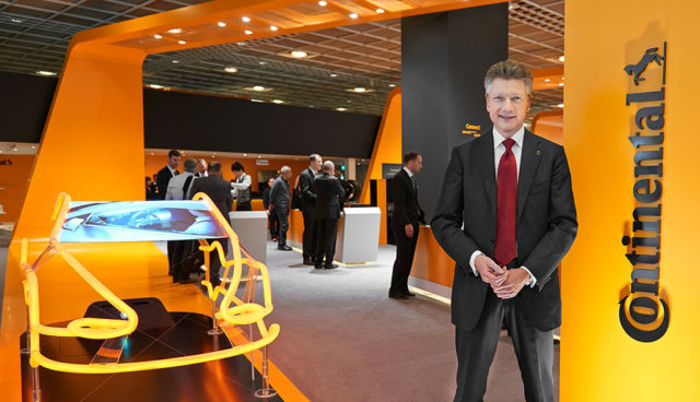"Conti-Chef: Wandel in Autobranche ""kein Anlass, in Panik auszubrechen"""