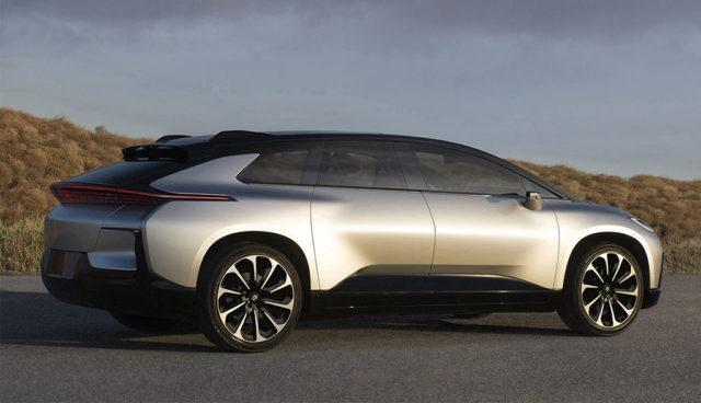 Faraday Future: Elektroauto-Wuchtbrumme FF 91 wird ziemlich teuer