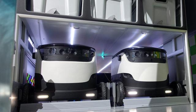 Daimler investiert in Elektro-Lieferroboter-Startup Starship Technologies