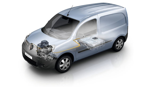 Details zum neuen Renault Kangoo Z.E. mit 270 Kilometer Reichweite