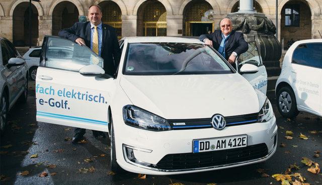 Sachsens Verwaltungen: Geteiltes Bild bei Elektroautos