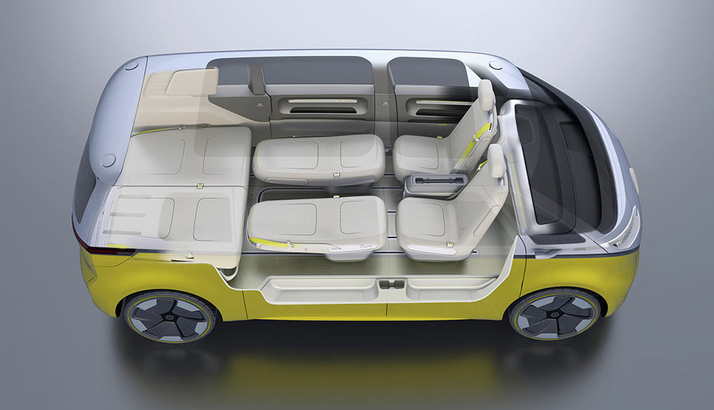 VW I.D. BUZZ: Elektroauto-Bus mit 600 km Reichweite (Bilder, Videos ...