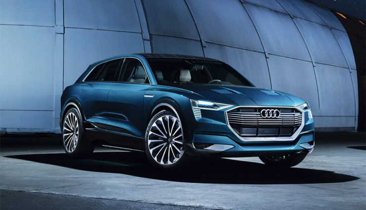 audi e tron erstes echtes elektroauto premium suv. Black Bedroom Furniture Sets. Home Design Ideas