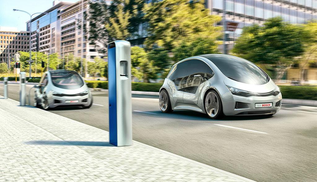 Bosch-Elektroauto-Elektromobilitaet