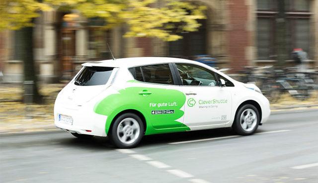 Elektroauto-Fahrdienst CleverShuttle: Das intelligente Sammeltaxi