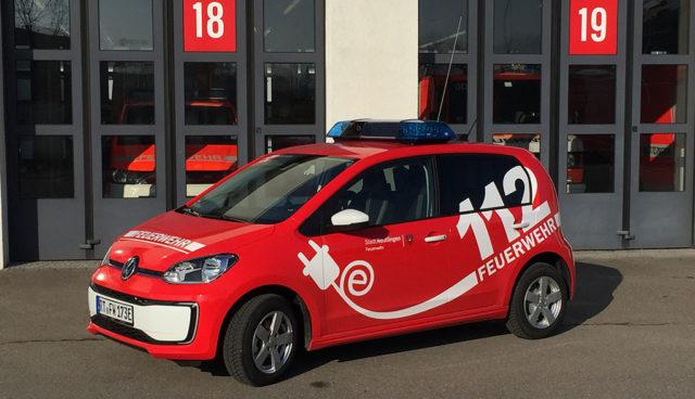 Feuerwehr-Elektroauto-Reutlingen