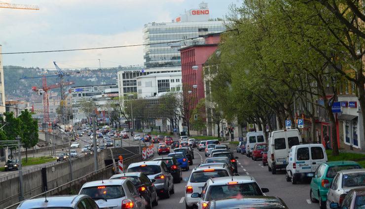 Kritik an Fahrverboten für alte Diesel in Stuttgart