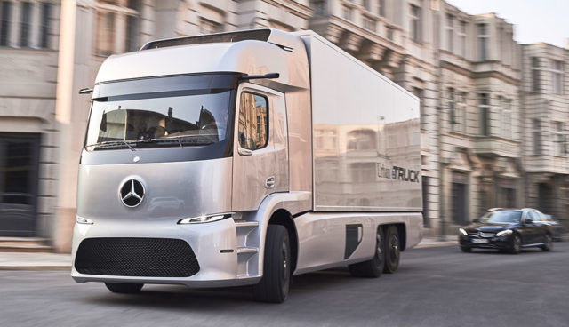 Mercedes-Benz Elektro-Lkw Urban eTruck startet bereits in diesem Jahr