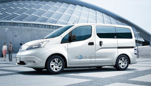 Nissan e-NV200 meistverkaufter Elektro-Transporter in Deutschland und Europa