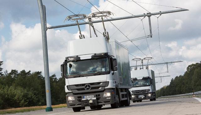 Oberleitungs-LKW sind günstigste Lösung für CO2-freien Transport