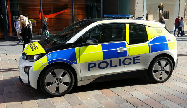 Polizei-London-BMW-i3