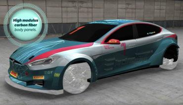 Tesla-Electric-GT-P100D-Technik-Video