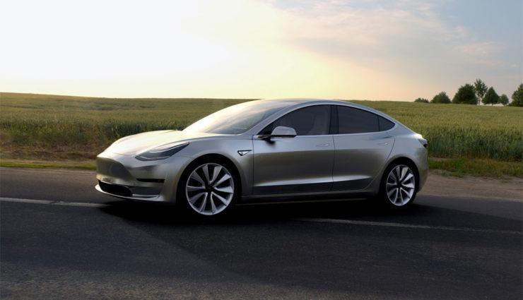 Tesla liegt beim Model 3 im Zeitplan