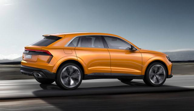 Audi Q8 sport concept mit Mildhybrid-Antrieb vorgestellt