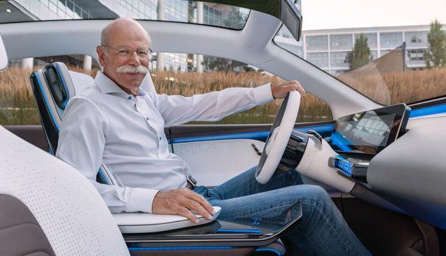 """Daimler-Chef: Produkte, """"die vor wenigen Jahren noch als Science-Fiction gegolten hätten"""""""
