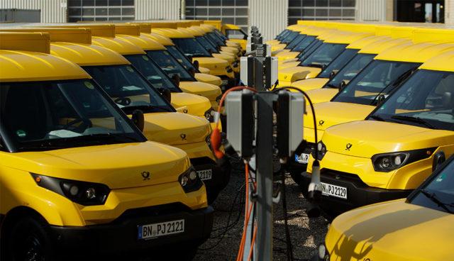 Deutsche Post: Null-Emissionen-Logistik bis 2050 – Verdopplung der StreetScooter-Flotte