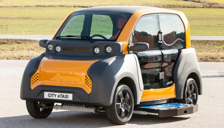 Elektroauto CITY eTAXI der Adaptive City Mobility (ACM)-1