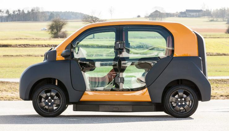 Elektroauto CITY eTAXI der Adaptive City Mobility (ACM)-7