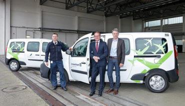 Elektroauto-Fuhrpark-Flughafen-Dortmund