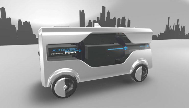 Neues Elektro-Transporter-Konzept von Ford