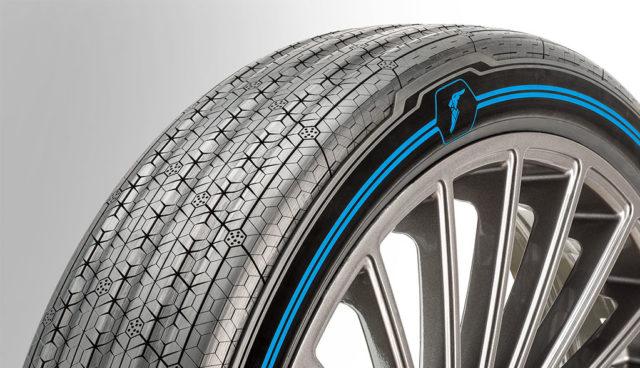 Goodyear stellt Konzeptreifen für autonome Elektroautos im Carsharing-Einsatz vor