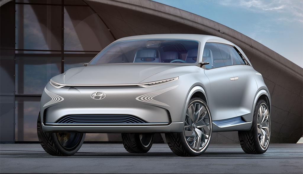 hyundai zeigt wasserstoff elektroauto fe fuel cell concept. Black Bedroom Furniture Sets. Home Design Ideas