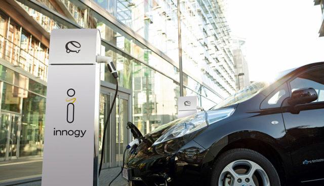 Innogy-Elektroauto-Fuhrpark-Flotte