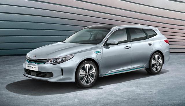 Nur für Europa: Kia Optima Sportswagon Plug-in-Hybrid
