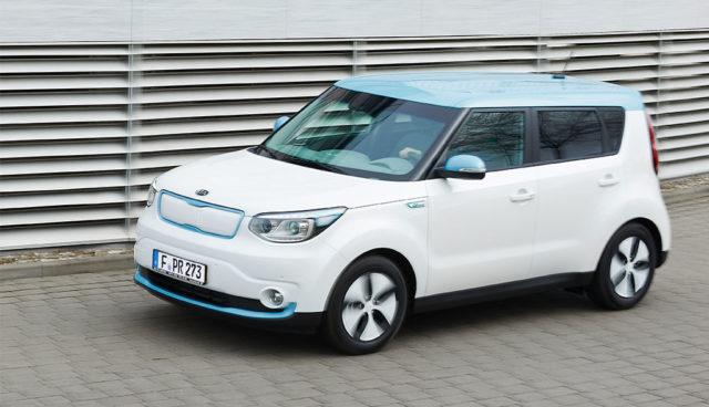 Kia-Elektroauto Soul EV ab Juni mit 250 Kilometern Reichweite