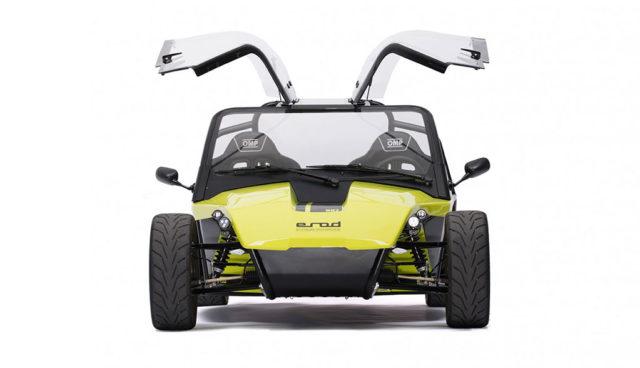 Elektro-Roadster Kyburz eRod ab sofort auch mit Hardtop