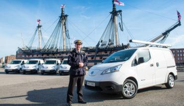 Nissan liefert 48 Elektro-Transporter an Royal Navy aus