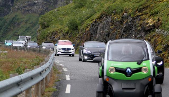 Norwegen: Hälfte aller Neuwagen sind Elektro- und Hybridautos