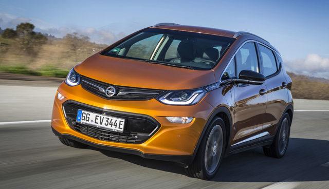 Opel-Elektroauto Ampera-e nicht vor Mai bei deutschen Händlern