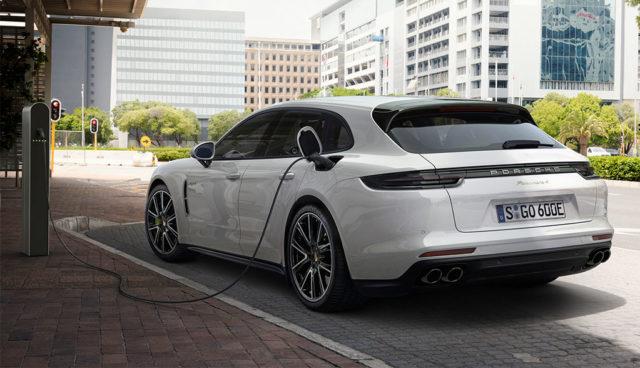 Auch als Plug-in-Hybrid: Neuer Porsche Panamera Sport Turismo
